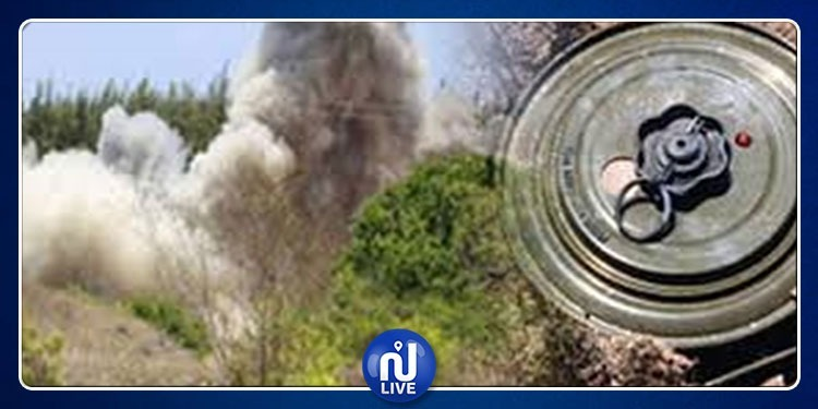 القصرين: انفجار لغم أرضي بجبل سمامة وإصابة عامل مقاولات