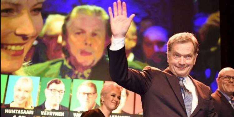 الرئيس الفنلندي يفوز بولاية ثانية