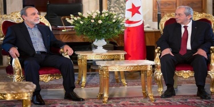 محمد الناصر  يلتقي رئيس المجلس الأعلى للدولة الليبي