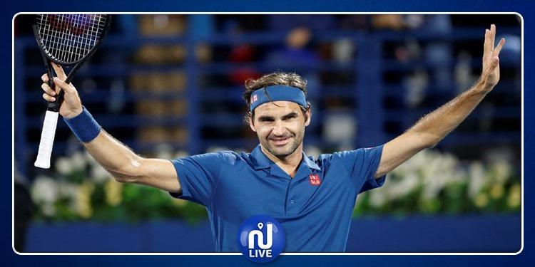 Roger Federer remporte le 100e titre de sa carrière