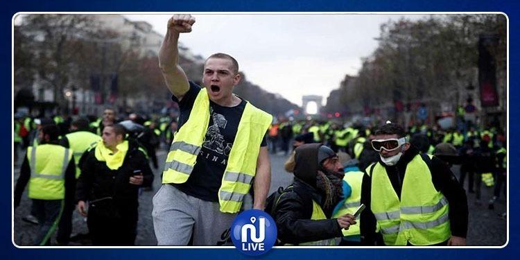 فرنسا: القضاء بسجن 40 % من محتجي السترات الصفراء