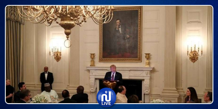 USA-Ramadan : L'ambassadeur de Tunisie en Jebba avec Trump…
