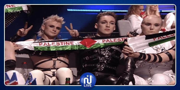 Eurovision en Israël : les Islandais affichent leur soutien à la Palestine