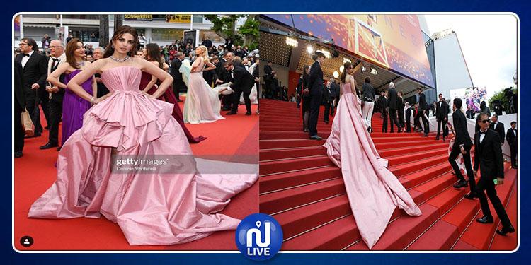 Cannes : Dorra Zarrouk fait sensation et accroche les regards…
