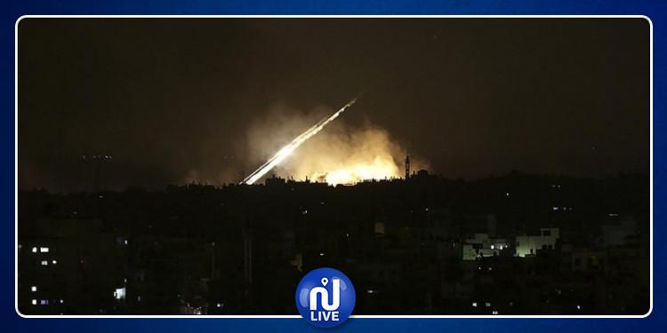 La Syrie sous les bombes de l'entité sioniste