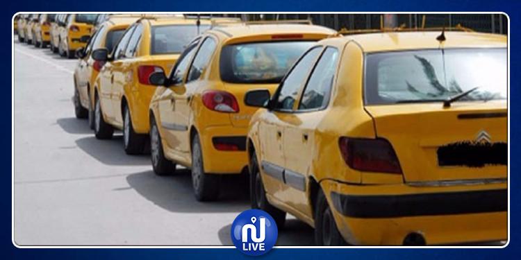 قبلي: وقفة احتجاجية لسائقي سيارات التاكسي على خلفية اعتداء أمنيين على زميلهم