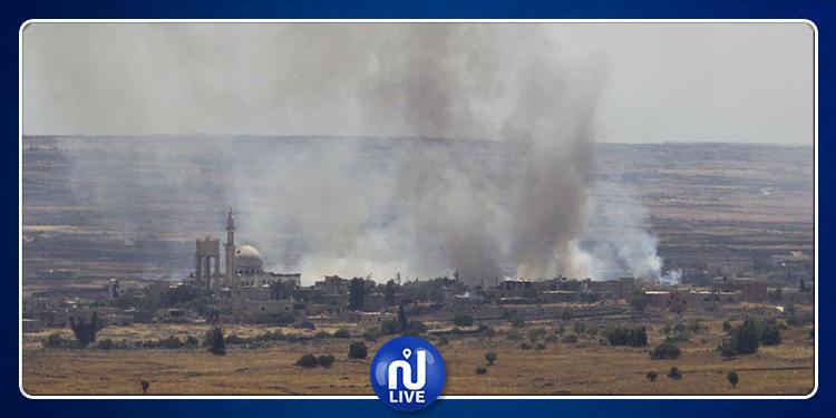 Syrie : Bombardements israéliens près du Golan