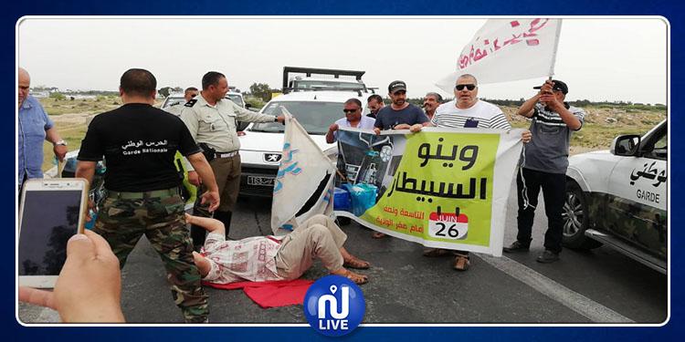 Kairouan : la coordination de ''Winou Esbitar'' proteste