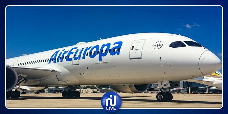 Air Europa reprend ses vols de Madrid vers Tunis…