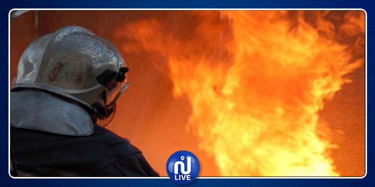 Kébili : Le nouveau commissariat à l'éducation ravagé par le feu