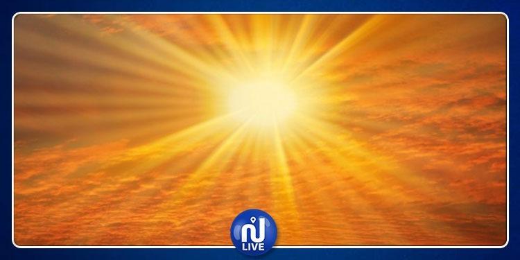 Les températures dépassent les normales saisonnières de 6 à 10°C
