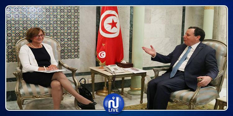 Jhinaoui rencontre la secrétaire générale adjointe du Conseil de l'Europe
