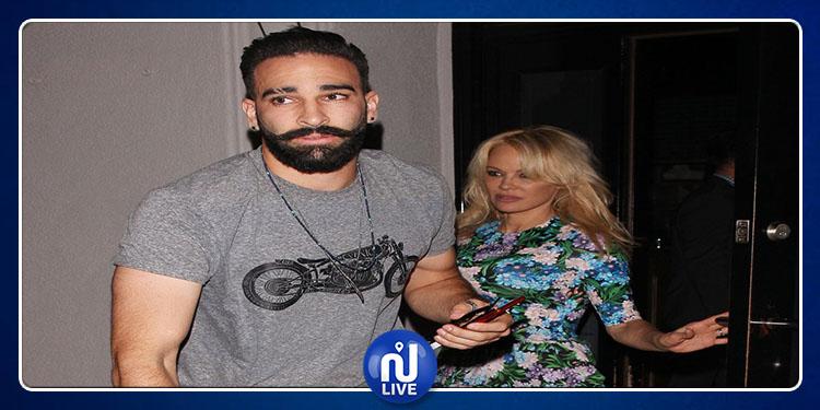 Pamela Anderson annonce sa rupture avec Adil Rami