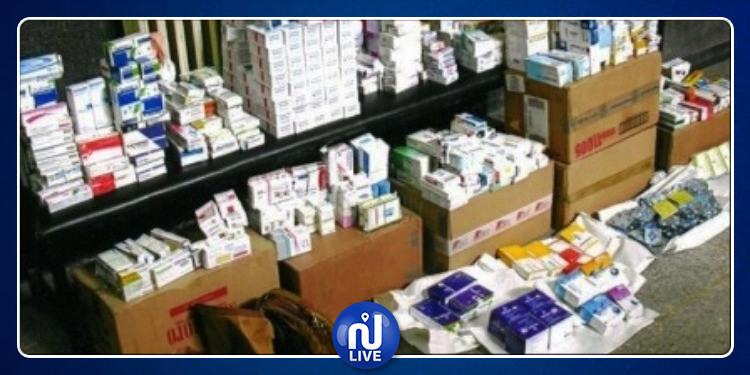 Jendouba : Une quantité de médicaments psychotropes saisie