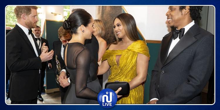 Tapis rouge: Harry et Meghan rencontrent Beyoncé et Jay Z (Photos)