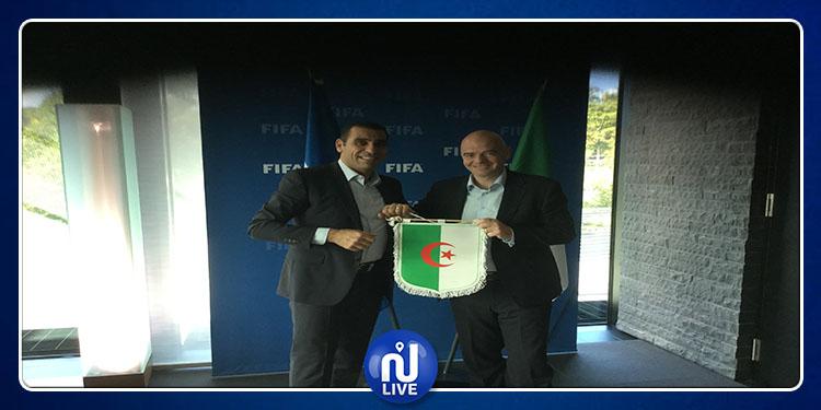 CAN 2019: L'Algérie est une grande équipe pour Infantino