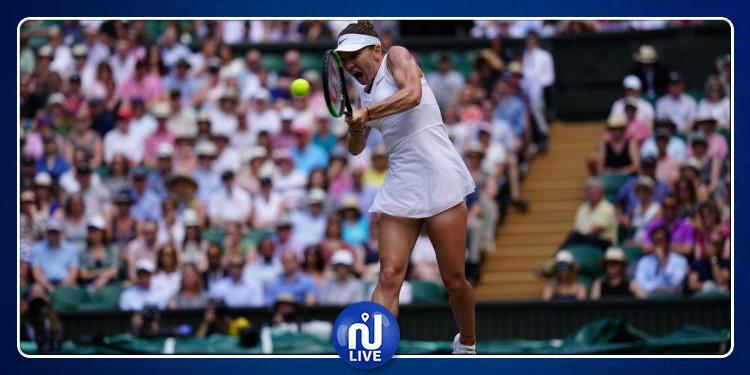 Wimbledon: Simona Halep qualifiée pour la finale (Vidéo)