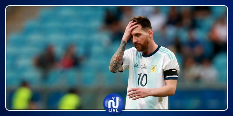 Messi ''continuera à aider'' l'argentine malgré la défaite