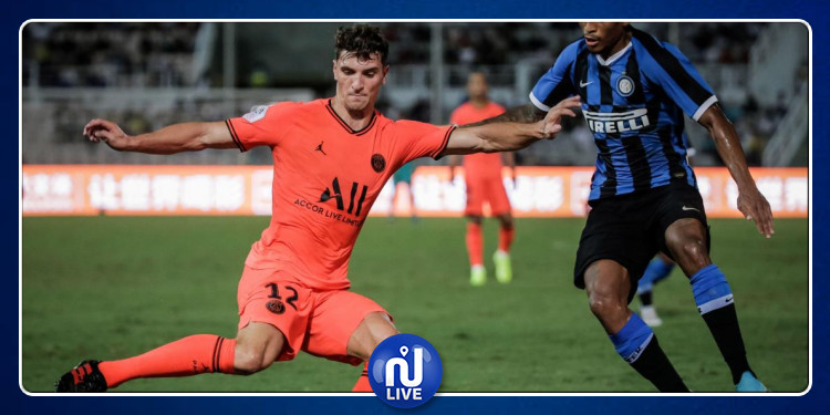 L'Inter bat le PSG en amical
