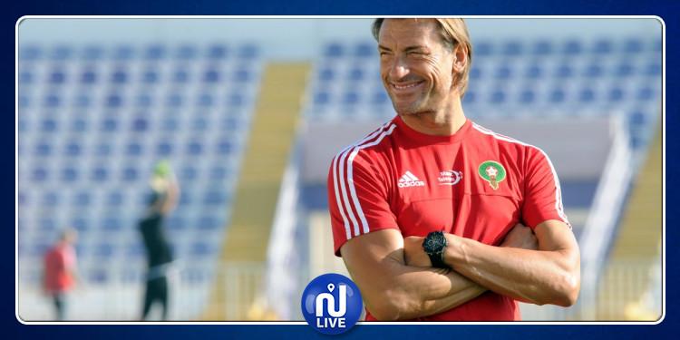 Hervé Renard annonce son départ de l'équipe du Maroc