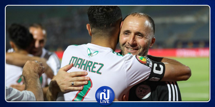 L'Algérie passe en 1/2 finale