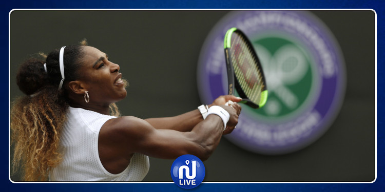 Wimbledon: Serena Williams passe en ½ finale