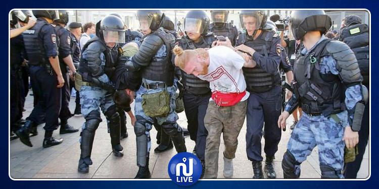 Plus de 1000 arrestations à Moscou