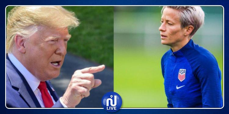 L'équipe féminine américaine de football refuse l'invitation de Trump