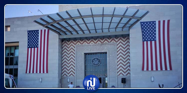 L'ambassade des USA, fermée ce lundi