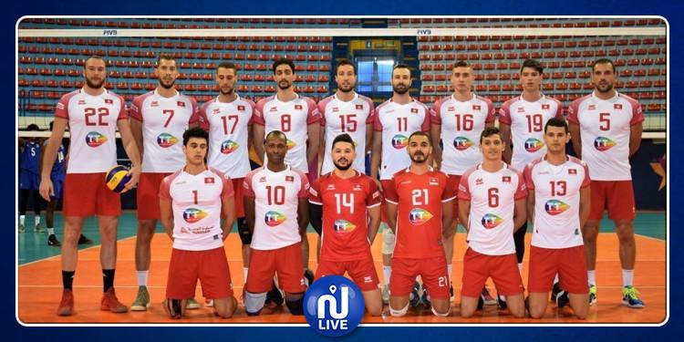 CAN-Volley-ball: La Tunisie affronte le Cameroun en finale
