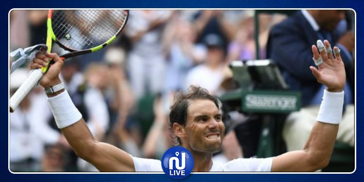 Wimbledon: Nadal passe tranquillement en quart de final…