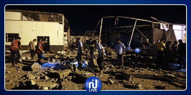 Libye: Un raid aérien contre un centre de migrants fait 40 morts