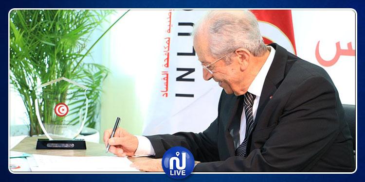 Mohamed Ennaceur déclare son patrimoine à l'INLUCC