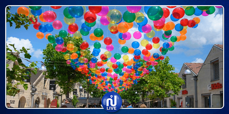 Paris : 3200 ballons colorés sublimeront Bercy Village
