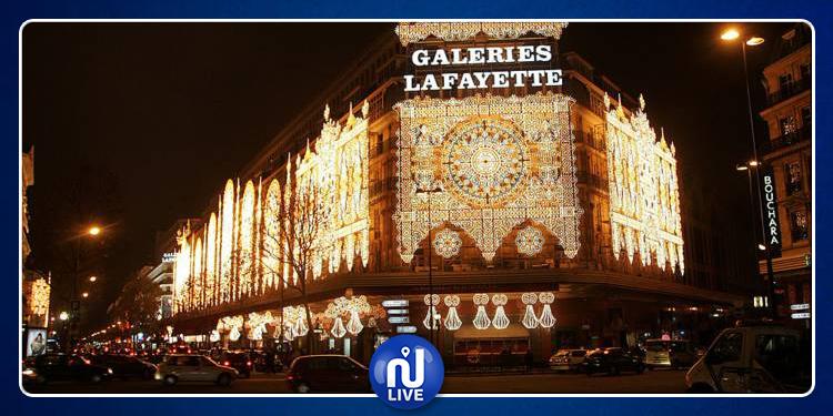 Paris : les galeries Lafayette cible d'une attaque avec des marteaux