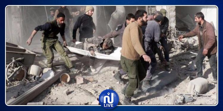 Syrie : 13 civils tués dans un raid russe