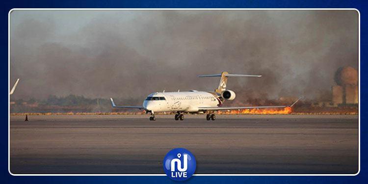 Libye : L'aéroport civil de Zouara cible de tirs d'un avion bombardier...
