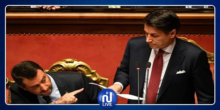 Italie : Conte démissionne !