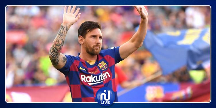 Lionel Messi, blessé et forfait pour la tournée américaine
