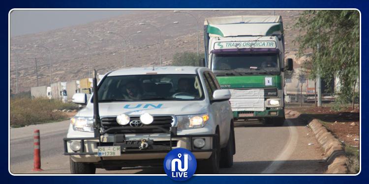 Syrie : 19 camions d'aide humanitaire de l'ONU se dirigent vers Idleb