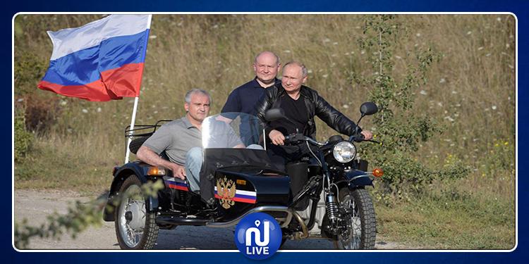 Poutine poursuivi en justice pour conduite d'une moto sans casque