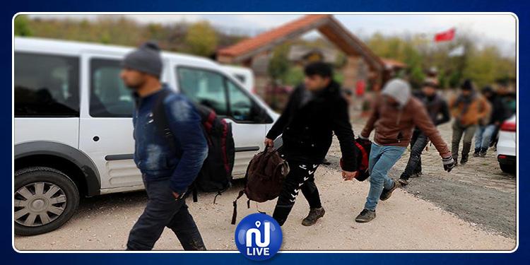 469 migrants irréguliers interceptés dans le Nord-ouest de la Turquie