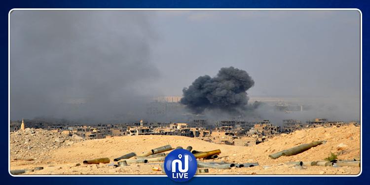 Syrie : 6 morts et 3 blessés dans des raids aérien des forces du Régime