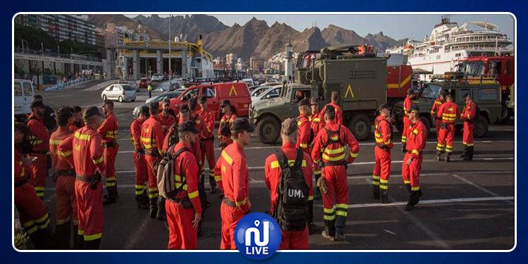 Grande Canarie-Incendie :4 000 personnes évacuées