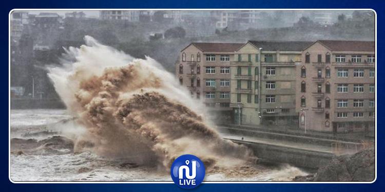 Typhon Lekima en Chine : Le bilan s'alourdit