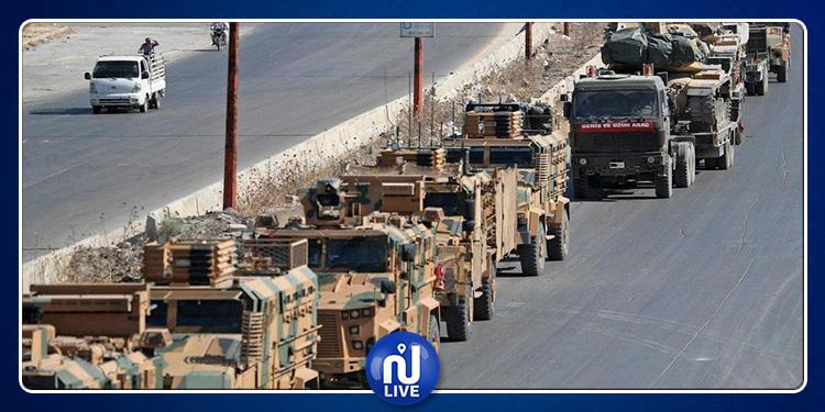 Un convoi turc attaqué en Syrie, le bilan passe à 3 morts