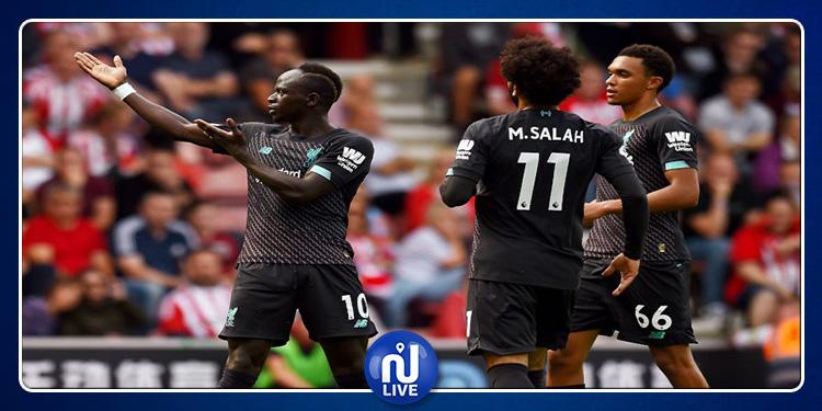 Premier League : Liverpool occupe provisoirement la tête du classement !