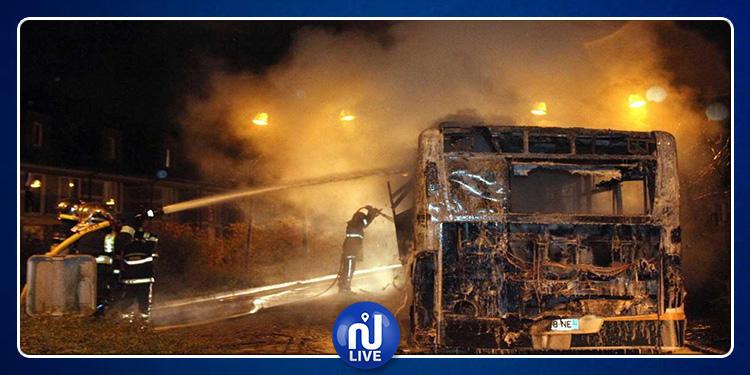 El Mourouj 3 : Un bus prend feu sans faire de blessés