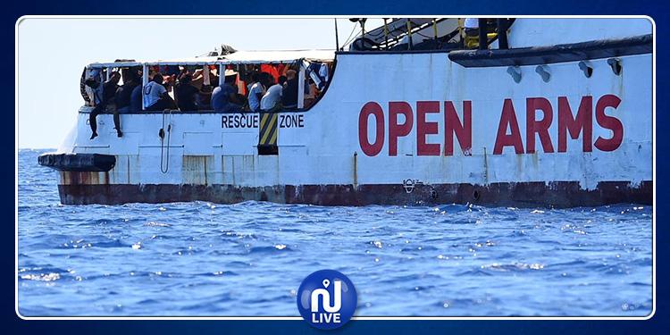 La justice italienne ordonne de débarquer les migrants de l'Open Arms