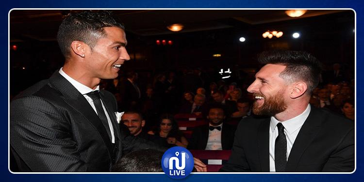 Cristiano Ronaldo: J'admire beaucoup la carrière de Messi